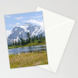 MOUNT SHUKSAN ONE AUGUST DAY Stationery Cards