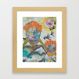 Mamma and Babe Framed Art Print