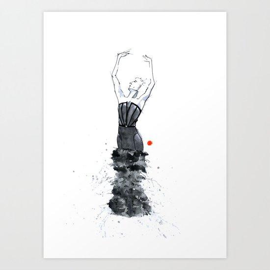 dancer 02*** Art Print