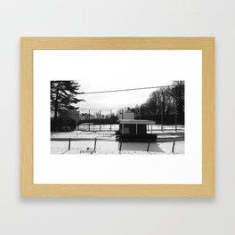 Sunset Drive-In  Framed Art Print