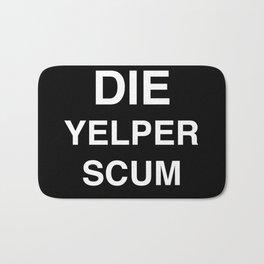 Yelper Scum Bath Mat