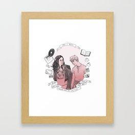 Rae + Finn Framed Art Print