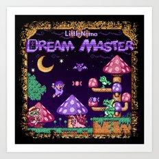 Master Dreamer Nemo Little Art Print