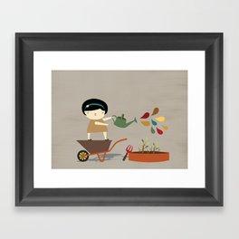 Assistant Framed Art Print