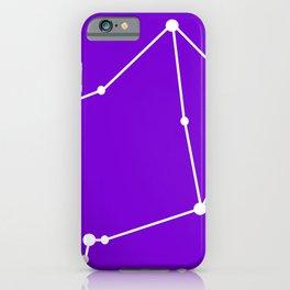 Libra (White & Purple) iPhone Case