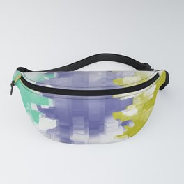 Abstract pixels background 33 Fanny Pack