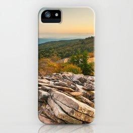 Spruce Knob Mountain Sunset iPhone Case