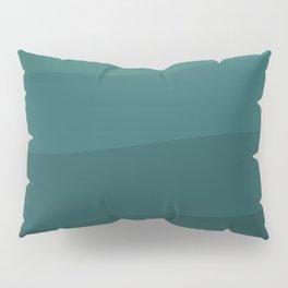 Six shades of turquoise. Pillow Sham