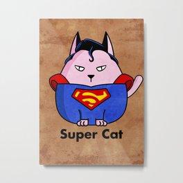SuperCat Metal Print