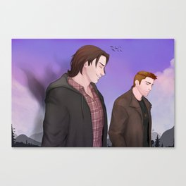 Winchesters Canvas Print