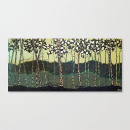 """Funky Forest"" Canvas Print"