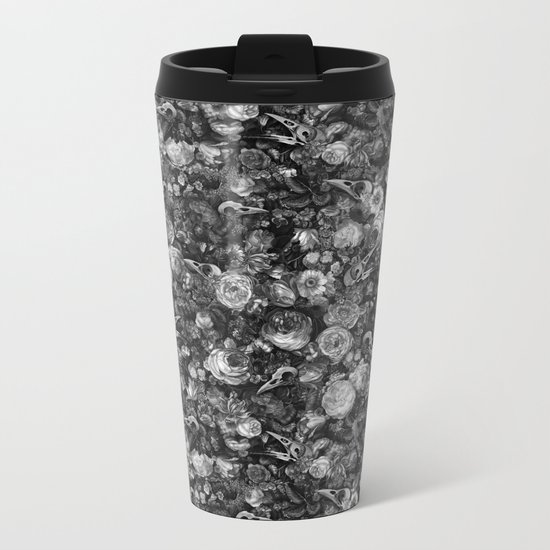 Baroque Macabre II Metal Travel Mug