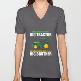 Vintage Sibling Sayings Baby Showers Pun Tee Shirts Gifts | Hilarious Eldest Kiddie Gags Boys Girls Unisex V-Neck