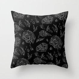 Life in Death Throw Pillow