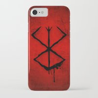 berserk iPhone & iPod Cases featuring The Berserk Addiction by DesignDinamique