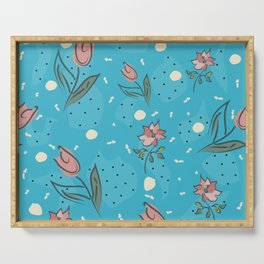 Tulips Serving Tray
