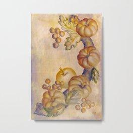 Tiny Pumpkins Metal Print