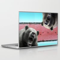 bears Laptop & iPad Skins featuring Bears by Mary Lo