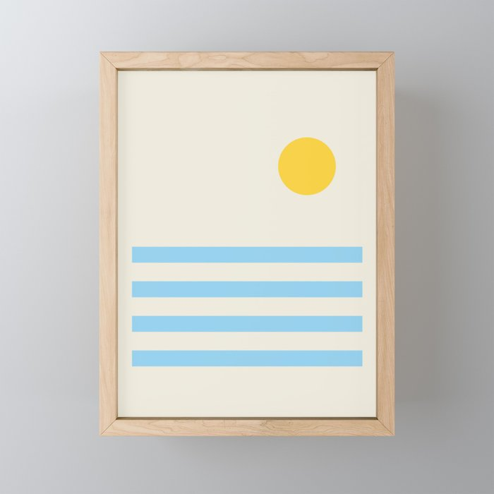 Sunnyside Up Framed Mini Art Print