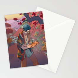 Ukiyo-e tale: The curse Stationery Cards