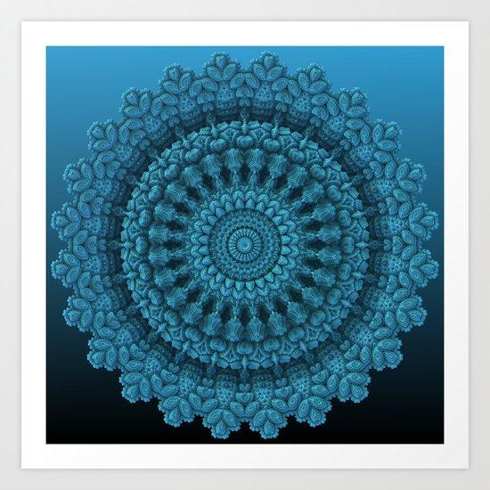 Mandala for the Masses Art Print