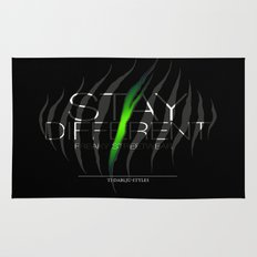 Stay Different Rug