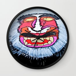 macaques monkey Wall Clock