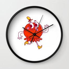 Squidballs! Wall Clock