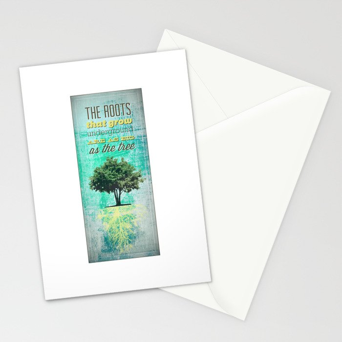 Roots of the Tree Stationery Cards