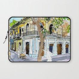 View from Parque Cristo, Habana Vieja, Cuba Laptop Sleeve