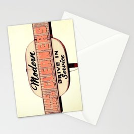 Modern Cleaners Stationery Cards