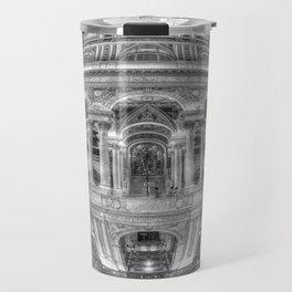 Ode To MC Escher Library of Congress Orb Travel Mug