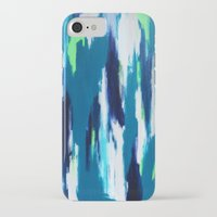 ikat iPhone & iPod Cases featuring Ikat by kristinesarleyart