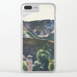 Edward Hopper - Guanajuato, Mexico, 1953 Clear iPhone Case