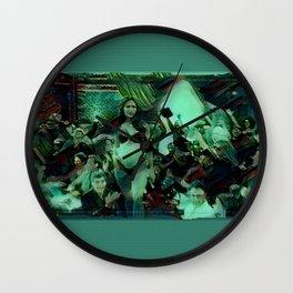 Peep Show Ghouls Wall Clock
