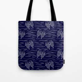 Otterly Devoted Tote Bag