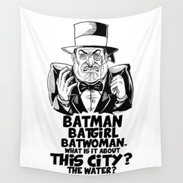 Classic Oswald Cobblepot: The Penguin Wall Tapestry