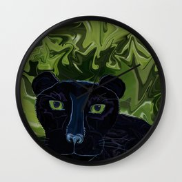Do Panthers Fly? Wall Clock