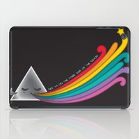 dark side iPad Cases featuring Dark Side by Inky Valentine