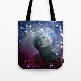 emerging from the shadow -1- Tote Bag