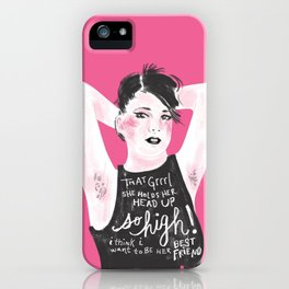 Rebel Girl iPhone Case