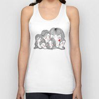 talking heads Tank Tops featuring Heads by meau