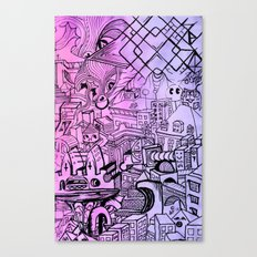 Funky Town Pt. 2 Canvas Print