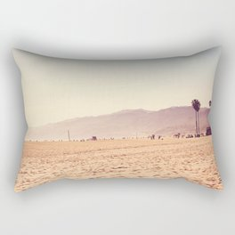 Vintage Santa Monica Rectangular Pillow