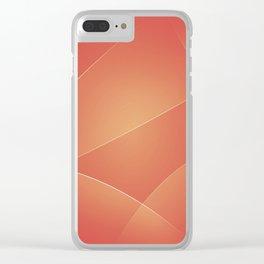 Red Damask, Valencia, Japonica & Di Serria Colors Clear iPhone Case