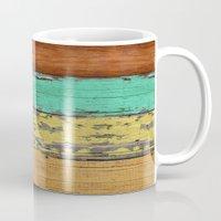 western Mugs featuring Lejano Western by Diego Tirigall
