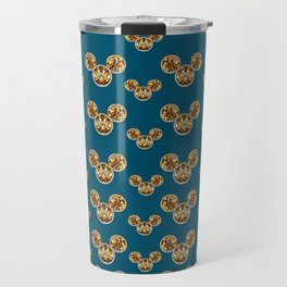 Cartoon animals in gold and silver gift decorations Travel Mug