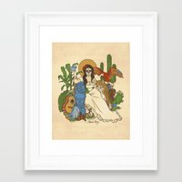 mexico Framed Art Prints featuring Mexico by Anne Kelley
