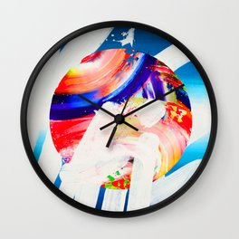 REALITY - A LIE TRY Wall Clock