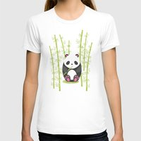 panda T-shirts featuring Panda  by eDrawings38